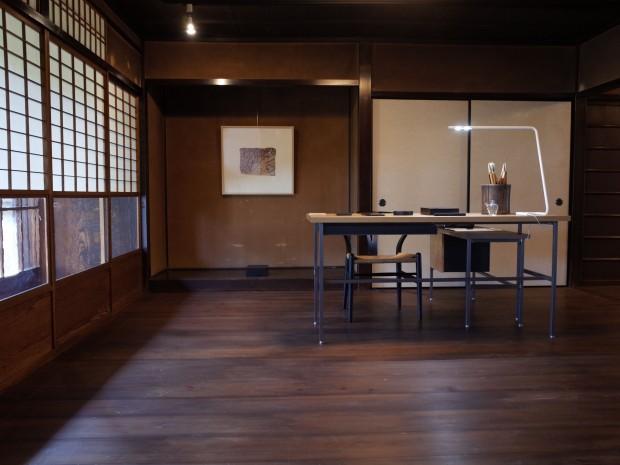 Kyoto venue for the Exhibition of Contemporary OGATSU Inkstone