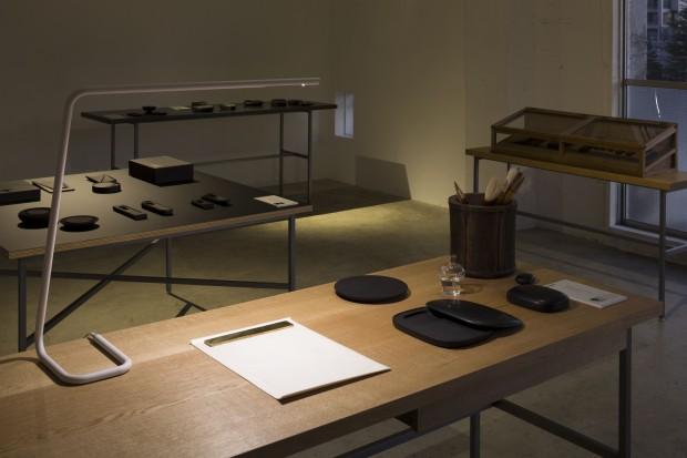 「現代の雄勝硯 ー 新作展示会 Exhibition of Contemporary OGATSU Inkstone」東京会場の様子